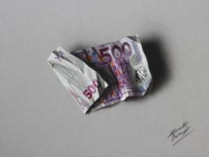 500 Euro Note By Marcellobarenghi-d7uzb3l