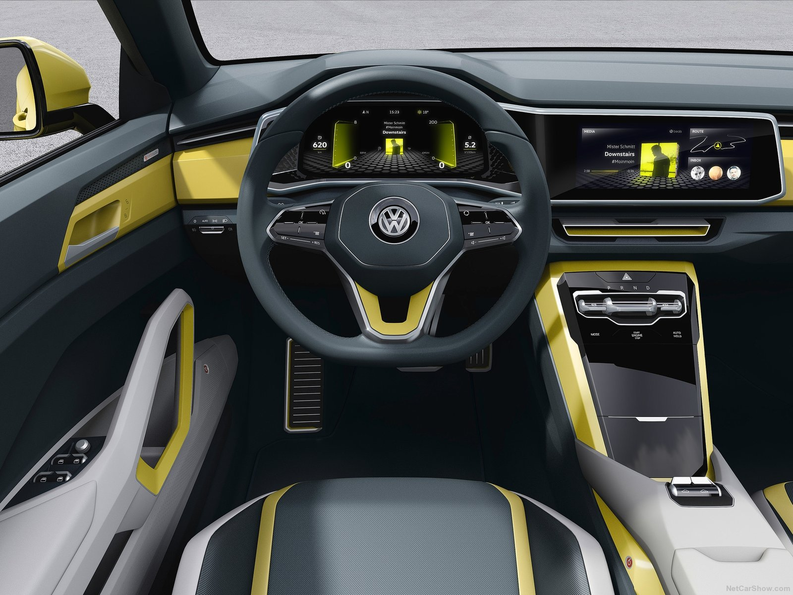 vw t-cross breeze hmi cluster ui дизайн